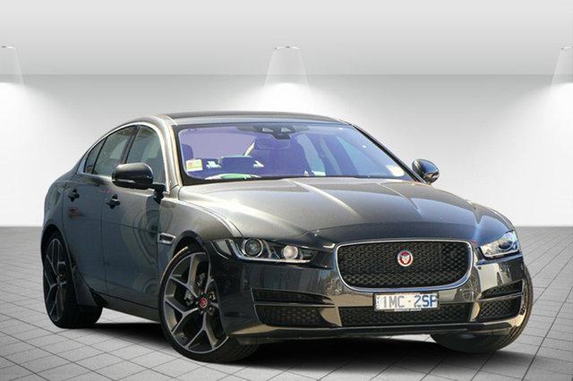 Discounted Demonstrator, Demo, Near New Jaguar XE 20D Prestige, Clayton, 2016 Jaguar XE 20D Prestige Sedan