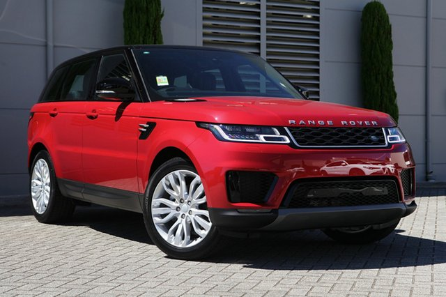 New Land Rover Range Rover Sport SDV6 183kW CommandShift SE, Cannington, 2018 Land Rover Range Rover Sport SDV6 183kW CommandShift SE Wagon