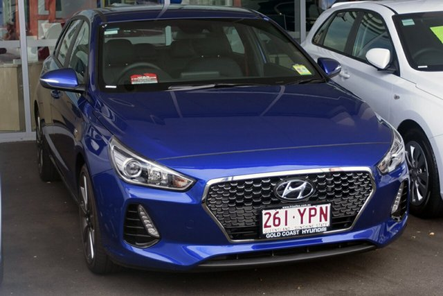 Demonstrator, Demo, Near New Hyundai i30 SR D-CT, Southport, 2018 Hyundai i30 SR D-CT Hatchback