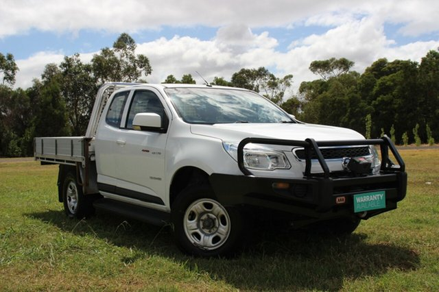 Used Holden Colorado LX Space Cab, Officer, 2014 Holden Colorado LX Space Cab Cab Chassis
