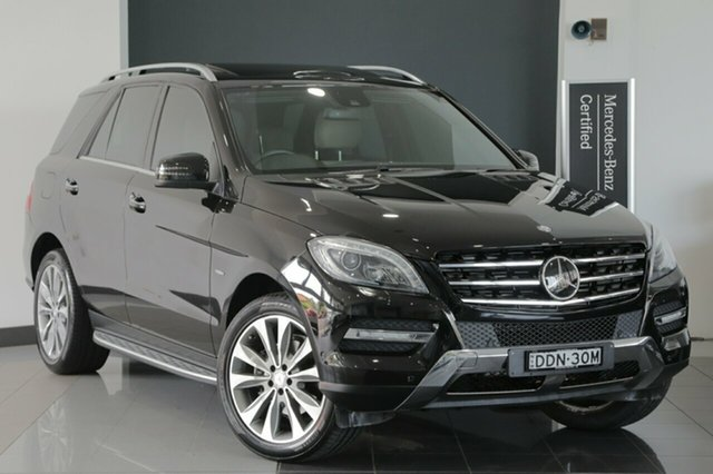 Used Mercedes-Benz ML350 BlueTEC 7G-Tronic +, Narellan, 2012 Mercedes-Benz ML350 BlueTEC 7G-Tronic + Wagon