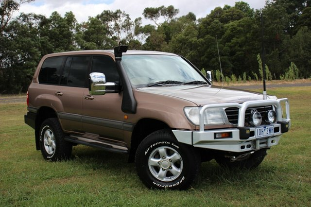 Used Toyota Landcruiser GXV, Officer, 1998 Toyota Landcruiser GXV Wagon
