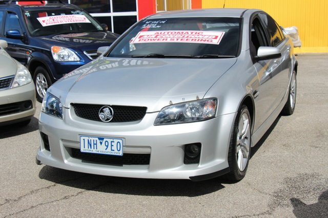Used Holden Commodore SV6, Cheltenham, 2008 Holden Commodore SV6 Sedan