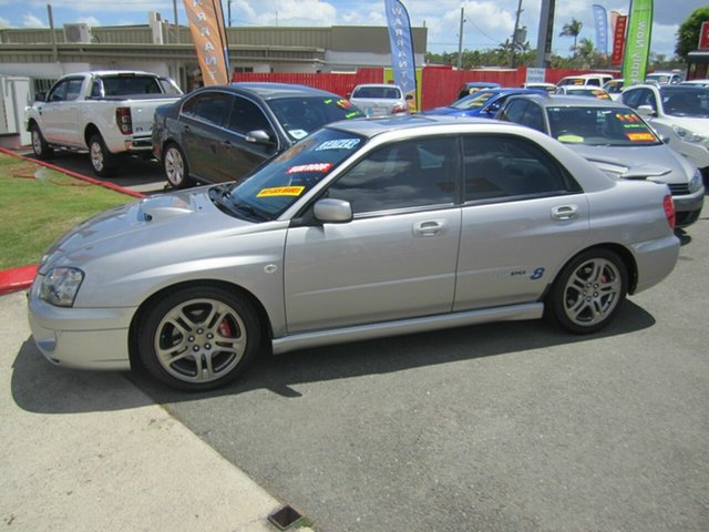 Used Subaru Impreza Club Spec EVO 8, Capalaba, 2005 Subaru Impreza Club Spec EVO 8 Sedan