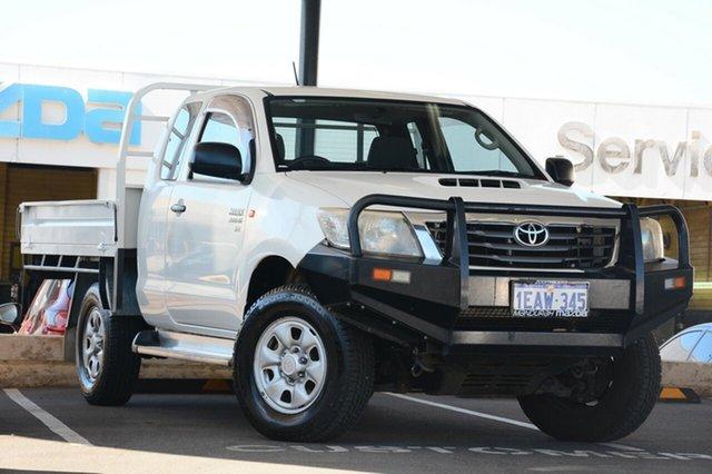 Used Toyota Hilux SR (4x4), Mandurah, 2012 Toyota Hilux SR (4x4) X Cab Cab Chassis