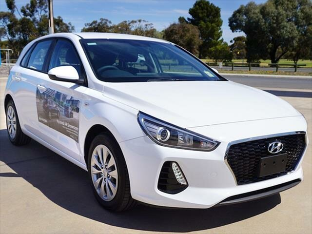 Demonstrator, Demo, Near New Hyundai i30 Go, Berri, 2018 Hyundai i30 Go Hatchback