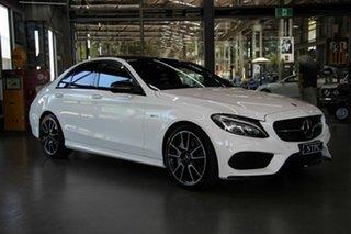 2017 Mercedes-Benz C43 AMG 9G-Tronic 4MATIC Sedan.
