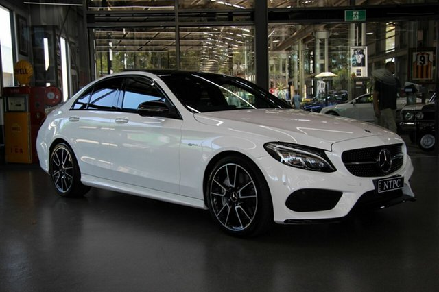 Used Mercedes-Benz C43 AMG 9G-TRONIC 4MATIC, North Melbourne, 2017 Mercedes-Benz C43 AMG 9G-TRONIC 4MATIC Sedan