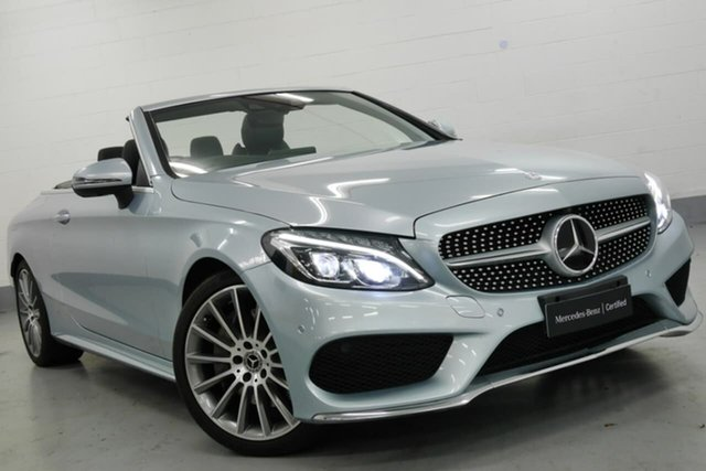 Used Mercedes-Benz C300 9G-TRONIC, Narellan, 2017 Mercedes-Benz C300 9G-TRONIC Cabriolet