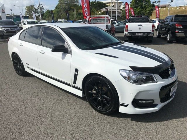 Used Holden Commodore SS Black, Gladstone, 2016 Holden Commodore SS Black Sedan