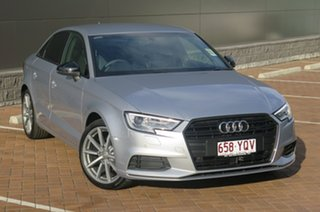 2018 Audi A3 Black Edition S Tronic Sedan.