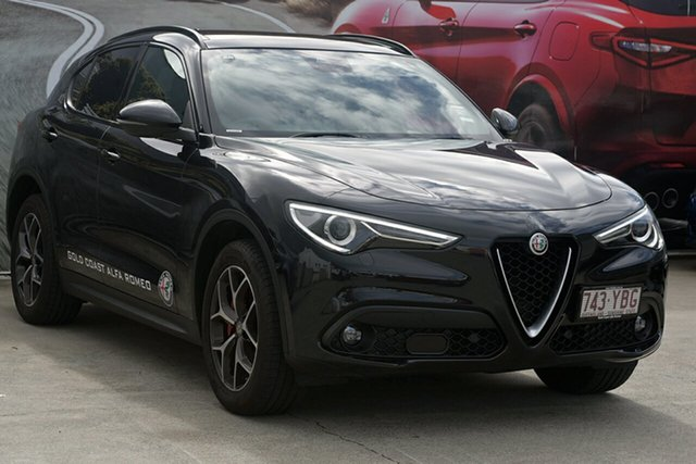 Demonstrator, Demo, Near New Alfa Romeo Stelvio First Edition AWD, Southport, 2017 Alfa Romeo Stelvio First Edition AWD Wagon