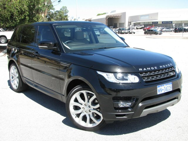 Used Land Rover Range Rover Sport TdV6 CommandShift SE, Maddington, 2017 Land Rover Range Rover Sport TdV6 CommandShift SE Wagon