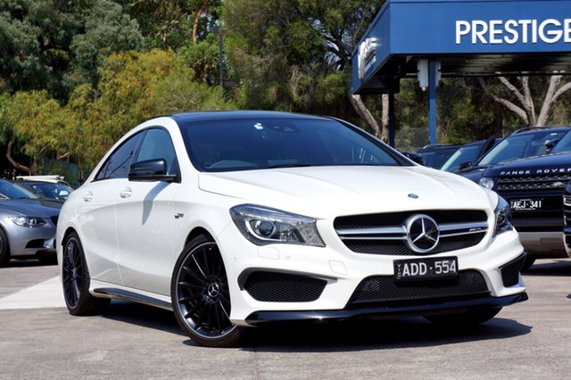 Used Mercedes-Benz CLA45 AMG SPEEDSHIFT DCT 4MATIC, Balwyn, 2015 Mercedes-Benz CLA45 AMG SPEEDSHIFT DCT 4MATIC Coupe
