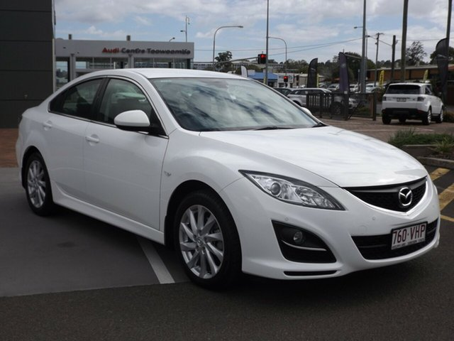Discounted Used Mazda 6 Touring, Toowoomba, 2012 Mazda 6 Touring Sedan