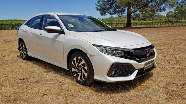 New Honda Civic VTi-S, Tanunda, 2018 Honda Civic VTi-S Hatchback