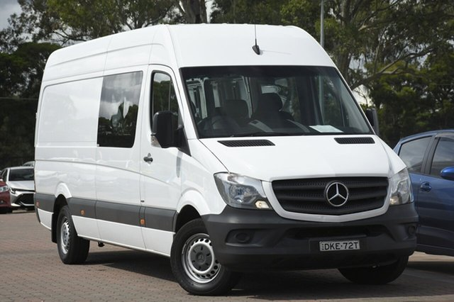 Used Mercedes-Benz Sprinter 313CDI High Roof LWB 7G-Tronic, Narellan, 2016 Mercedes-Benz Sprinter 313CDI High Roof LWB 7G-Tronic Van