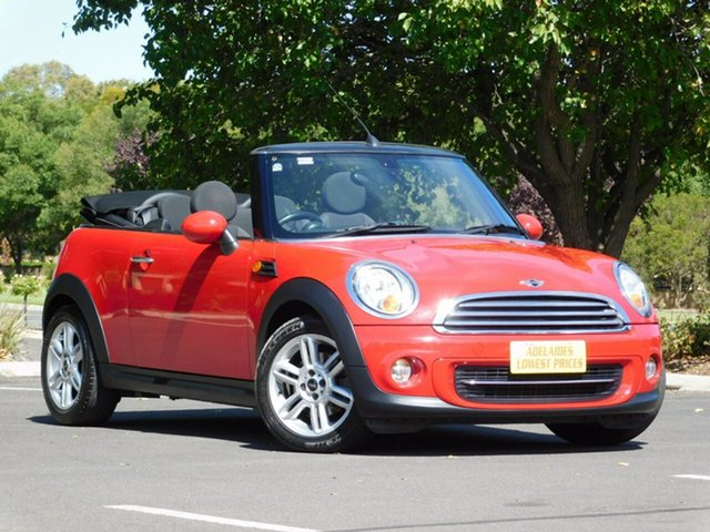 Used Mini Cabrio Cooper Steptronic, Enfield, 2010 Mini Cabrio Cooper Steptronic Convertible