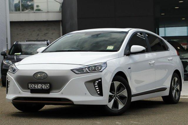 Demonstrator, Demo, Near New Hyundai Ioniq electric Premium, Brookvale, 2018 Hyundai Ioniq electric Premium Fastback