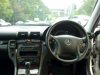 2002 Mercedes-Benz C200 Kompressor Elegance Sedan.