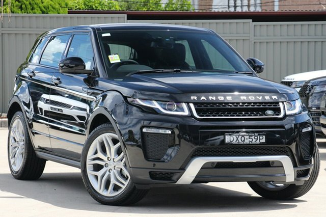 Demonstrator, Demo, Near New Land Rover Range Rover Evoque TD4 180 SE Dynamic, Blakehurst, 2017 Land Rover Range Rover Evoque TD4 180 SE Dynamic Wagon