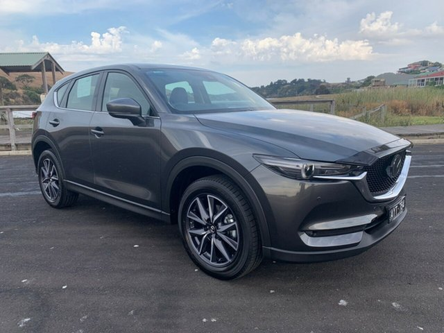 Demonstrator, Demo, Near New Mazda CX-5 GT SKYACTIV-Drive i-ACTIV AWD, Warrnambool East, 2018 Mazda CX-5 GT SKYACTIV-Drive i-ACTIV AWD Wagon