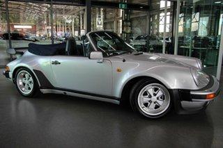 1986 Porsche 911 Carrera Convertible.