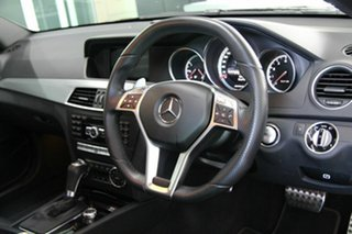 2013 Mercedes-Benz C63 AMG SPEEDSHIFT MCT Coupe.