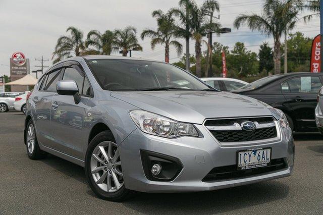 Used Subaru Impreza 2.0I-L (AWD), Oakleigh, 2014 Subaru Impreza 2.0I-L (AWD) MY14 Hatchback