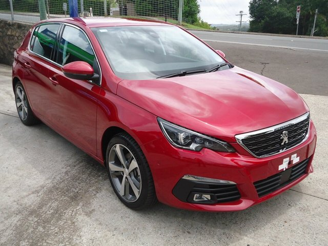 Demonstrator, Demo, Near New Peugeot 308 Allure, Nambour, 2018 Peugeot 308 Allure T9 MY18 Hatchback