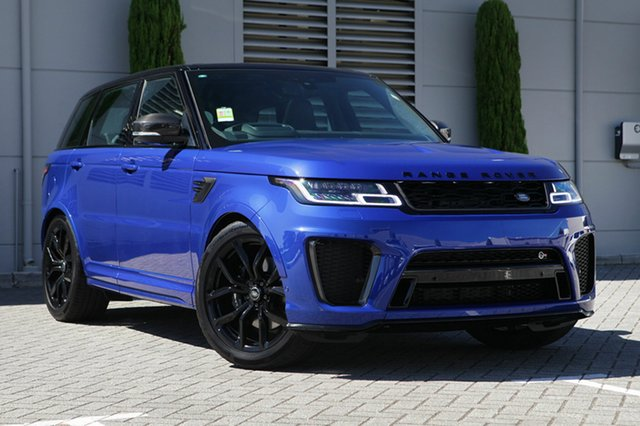 New Land Rover Range Rover Sport V8SC CommandShift SVR, Cannington, 2018 Land Rover Range Rover Sport V8SC CommandShift SVR Wagon