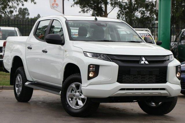Demonstrator, Demo, Near New Mitsubishi Triton GLX+ Double Cab, Bowen Hills, 2019 Mitsubishi Triton GLX+ Double Cab Utility