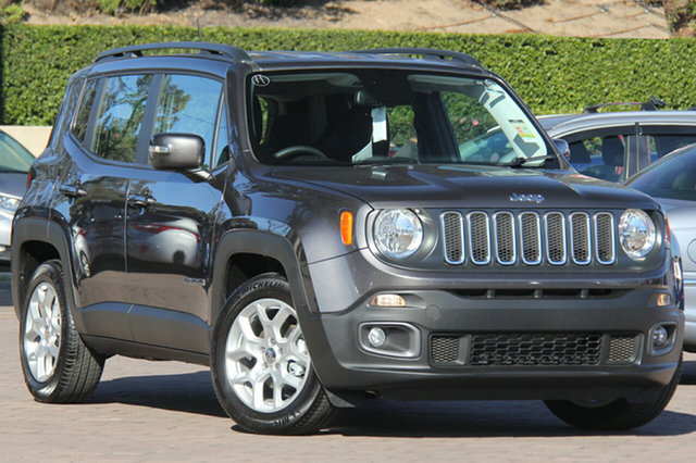 Discounted Demonstrator, Demo, Near New Jeep Renegade Longitude DDCT, Warwick Farm, 2017 Jeep Renegade Longitude DDCT SUV