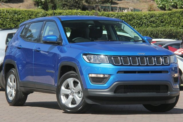 Discounted Demonstrator, Demo, Near New Jeep Compass Sport FWD, Warwick Farm, 2018 Jeep Compass Sport FWD SUV