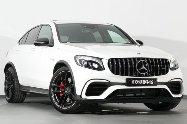 Demonstrator, Demo, Near New Mercedes-Benz GLC63 AMG Coupe SPEEDSHIFT MCT 4MATIC+ S, Southport, 2018 Mercedes-Benz GLC63 AMG Coupe SPEEDSHIFT MCT 4MATIC+ S SUV