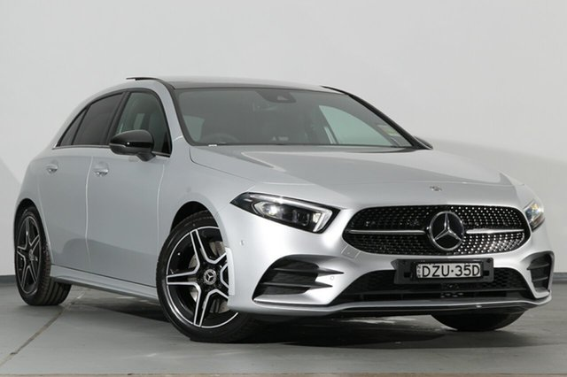 Demonstrator, Demo, Near New Mercedes-Benz A250 Limited Edition D-CT 4MATIC, Narellan, 2018 Mercedes-Benz A250 Limited Edition D-CT 4MATIC Hatchback