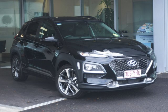 Used Hyundai Kona Highlander D-CT AWD, Southport, 2018 Hyundai Kona Highlander D-CT AWD Wagon