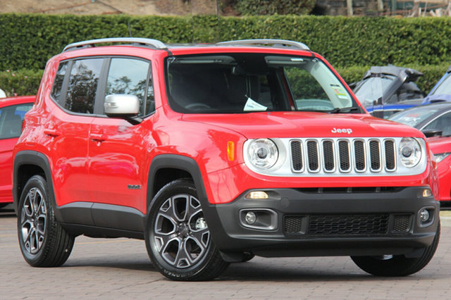 Discounted New Jeep Renegade Limited DDCT, Warwick Farm, 2017 Jeep Renegade Limited DDCT SUV