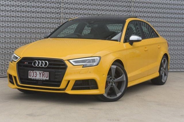 Demonstrator, Demo, Near New Audi S3, Southport, 2018 Audi S3 Sedan