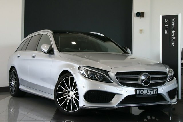 Used Mercedes-Benz C250 Estate 7G-Tronic +, Narellan, 2015 Mercedes-Benz C250 Estate 7G-Tronic + Wagon