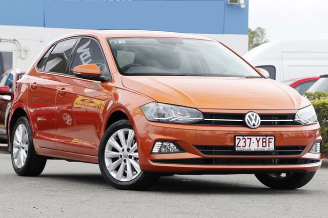 Used Volkswagen Polo 85TSI Comfortline, Bowen Hills, 2018 Volkswagen Polo 85TSI Comfortline Hatchback