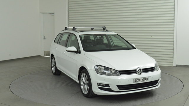 Used Volkswagen Golf 110TDI DSG Highline, Warwick Farm, 2014 Volkswagen Golf 110TDI DSG Highline Wagon