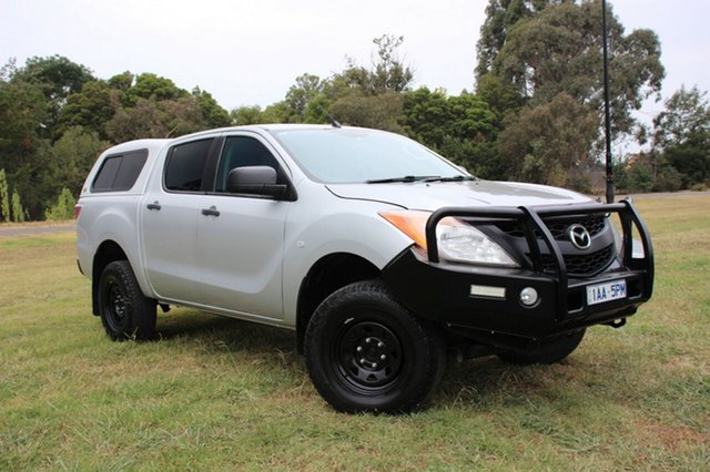 Used Mazda BT-50 XT, Officer, 2013 Mazda BT-50 XT Utility