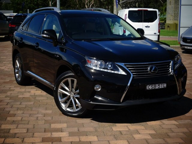 Discounted Used Lexus RX350 Sports Luxury, Warwick Farm, 2014 Lexus RX350 Sports Luxury SUV