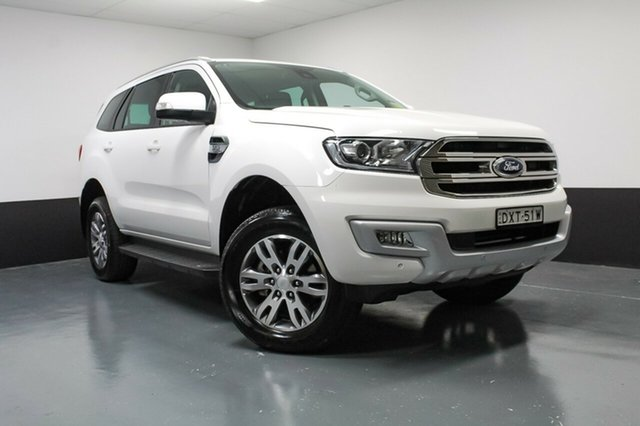 Used Ford Everest Trend RWD, Cardiff, 2018 Ford Everest Trend RWD Wagon