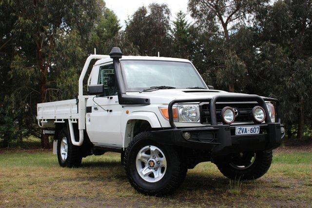 Used Toyota Landcruiser GXL, Officer, 2011 Toyota Landcruiser GXL Cab Chassis