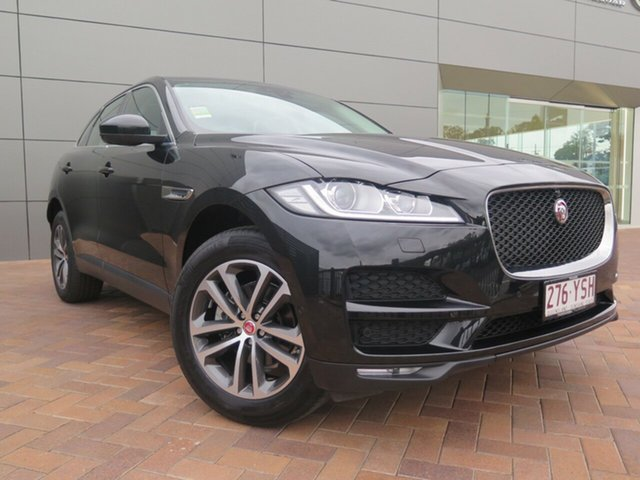 Demonstrator, Demo, Near New Jaguar F-PACE 20d AWD Prestige, Toowoomba, 2017 Jaguar F-PACE 20d AWD Prestige Wagon