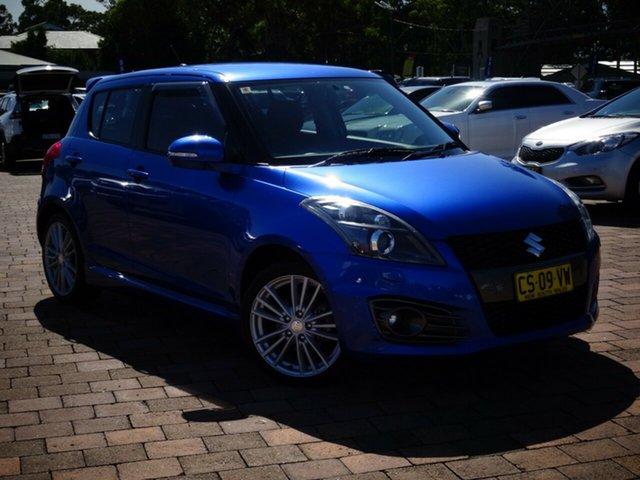 Used Suzuki Swift Sport, Narellan, 2015 Suzuki Swift Sport Hatchback