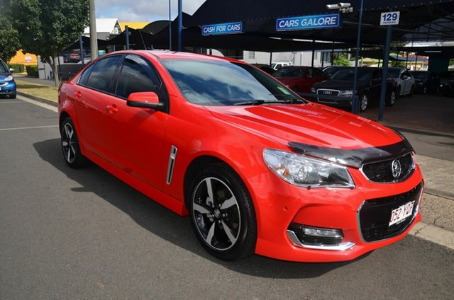 Used Holden Commodore SV6, Toowoomba, 2017 Holden Commodore SV6 Sedan
