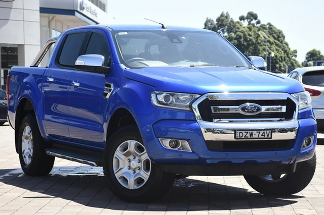 Discounted Used Ford Ranger XLT Double Cab, Warwick Farm, 2018 Ford Ranger XLT Double Cab Utility